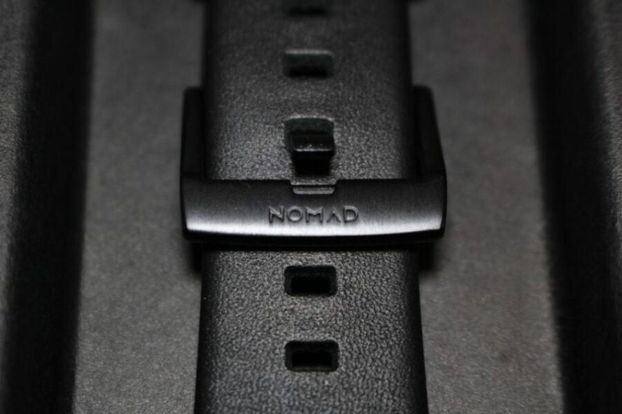 Apple Watchノマドバンド『NOMAD Active Strap』NOMADマークアップ