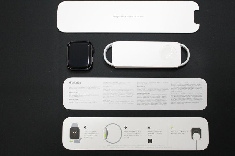 Apple WatchSeries6の付属品すべて