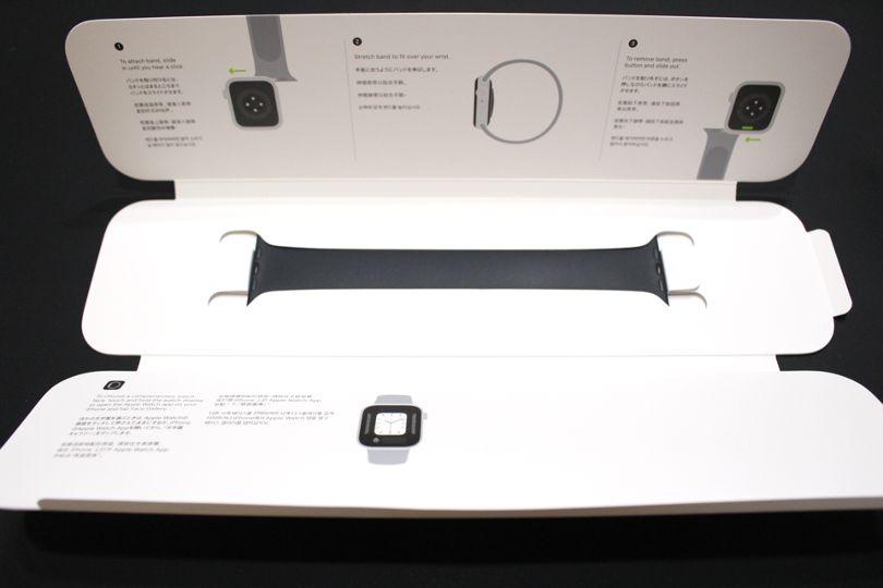 Apple WatchSeries6のベルト全体(ソロループ)