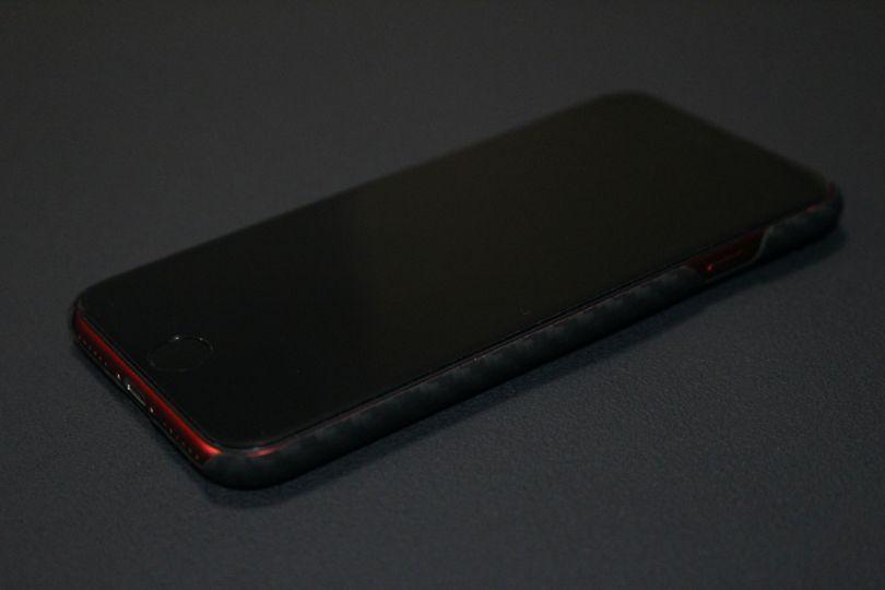 iPhone SE2(2020)用【レビュー】PITAKA MagEZ ケース電源側