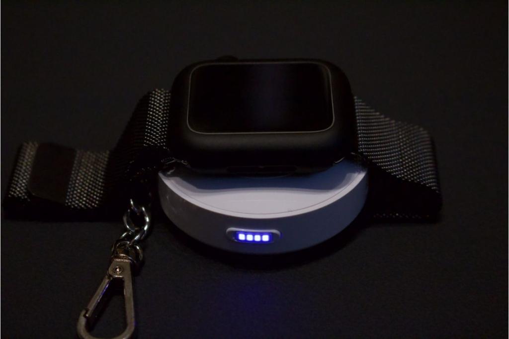 Apple Watchモバイルバッテリー『CHOETECH 900mAH T313』で給電してみた