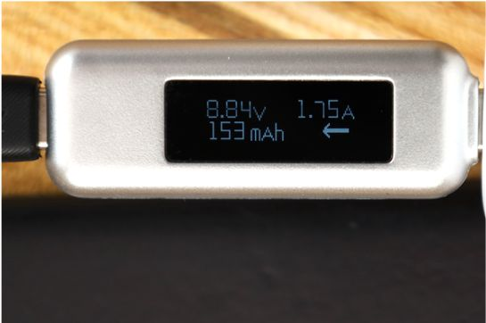 Anker PowerPortⅢ Nano 20Wの出力をiPhoneSE2で計測