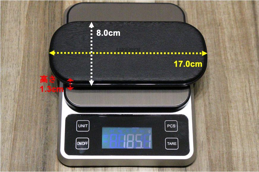 CHOTECH充電器 2台同時ワイヤレスチャージャーのサイズ感・重量
