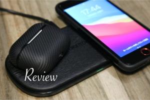 【レビュー】CHOTECH充電器 スマホ『iPhone・Android』2台同時ワイヤレスチャージャー