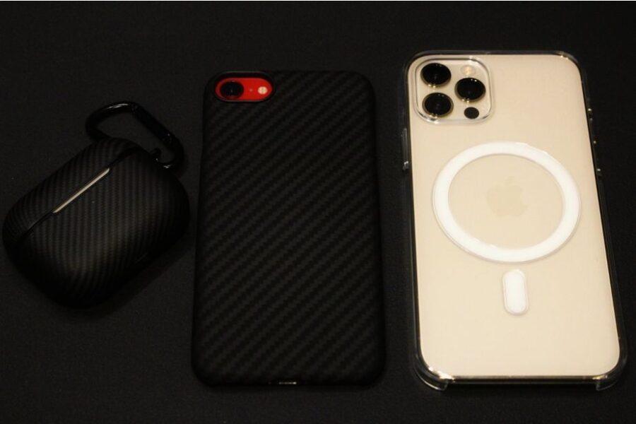 MagSafe対応『iPhone12Pro・iPhone12』Apple純正クリアケース同じマグネット系はPITAKA