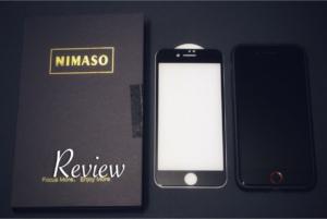 【レビュー】Nimaso!iPhoneSE2強化ガラス保護フィルム(アンチグレアorグレア)
