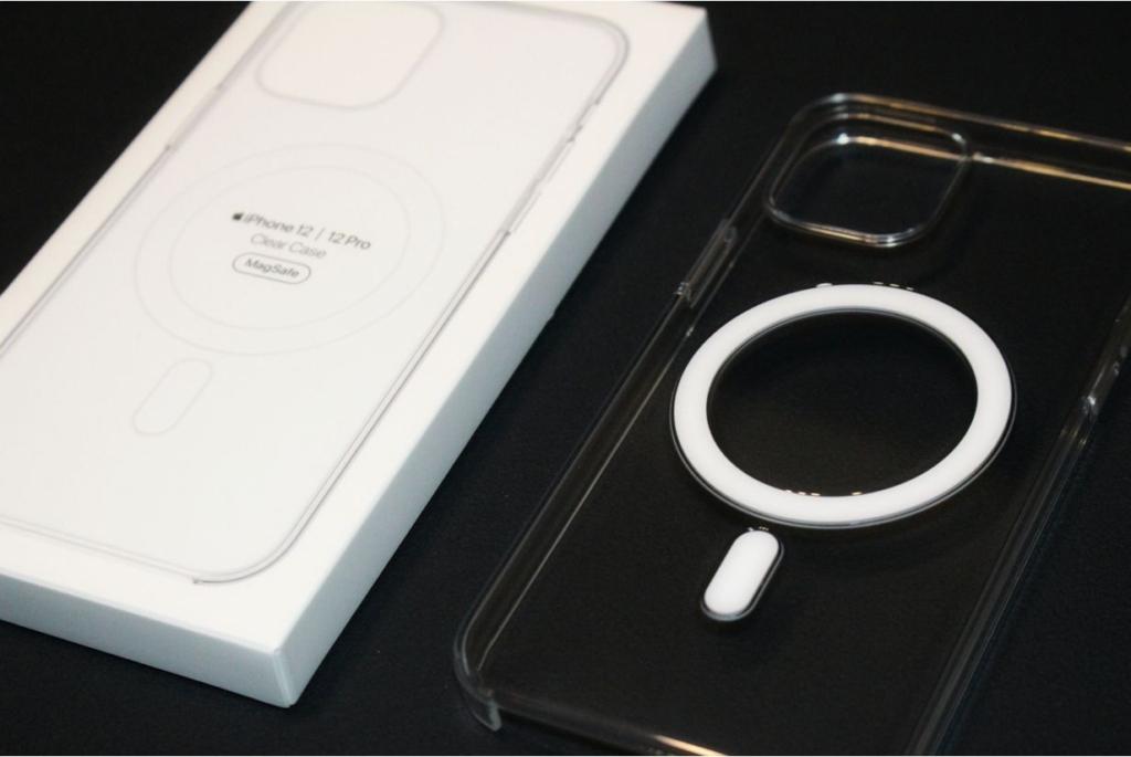 iPhone12シリーズ(Pro・無印・mini)MagSafe対応アップル純正クリアケース