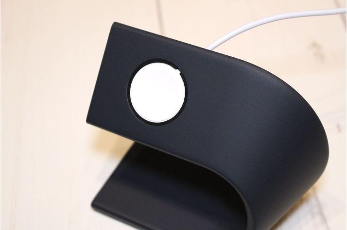 【レビュー】WUUDIのApple Watchおしゃれ充電器:スタンドケーブル収納5