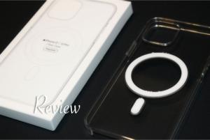 iPhone12シリーズ(Pro・無印・mini)MagSafe対応アップル純正クリアケースアイキャッチ