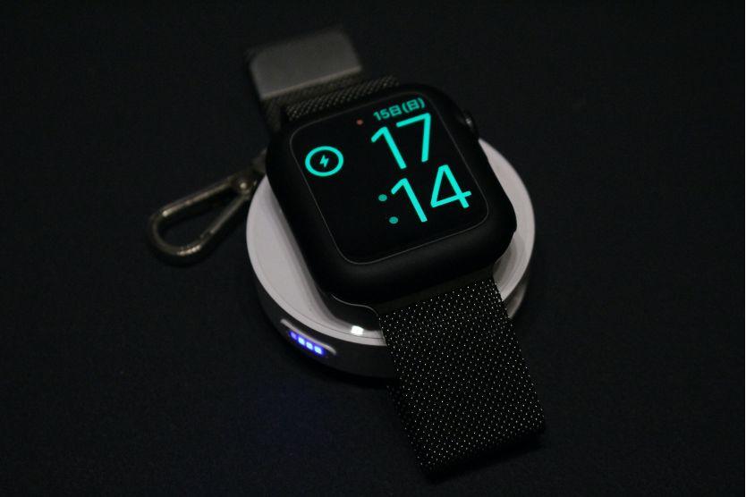 【レビュー】小型で外出時向け Apple Watchモバイルバッテリー『CHOETECH 900mAH T313』Amazon画像