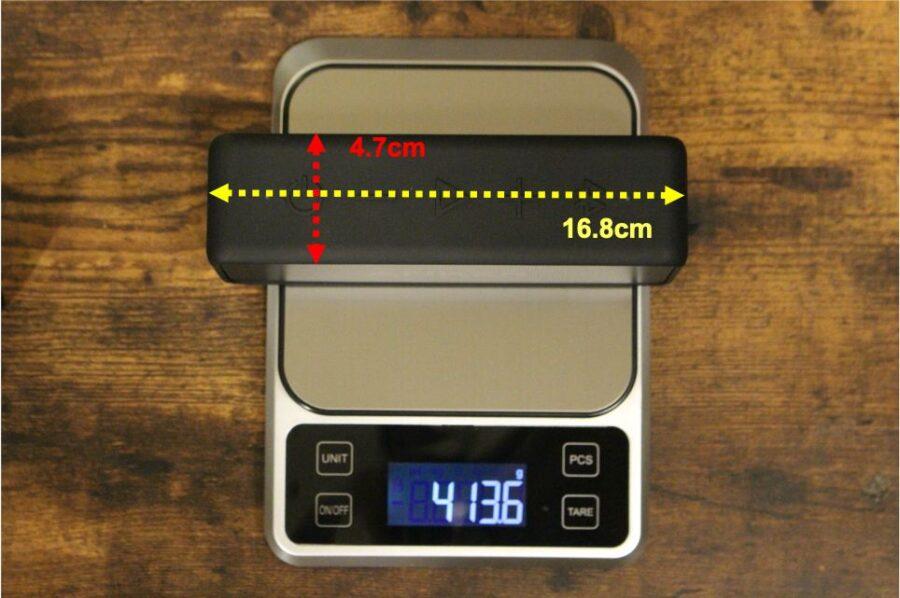 SoundCore2のサイズ感重量