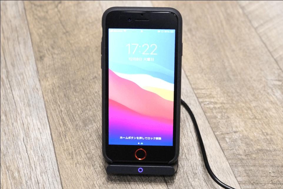 Anker PowerWave10 Stand改善版でiPhoneSE2を充電