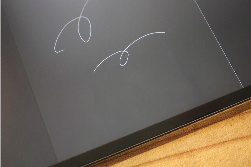 ELECOM(エレコム) iPadペーパーライクフィルム 開封レビュー書き心地2