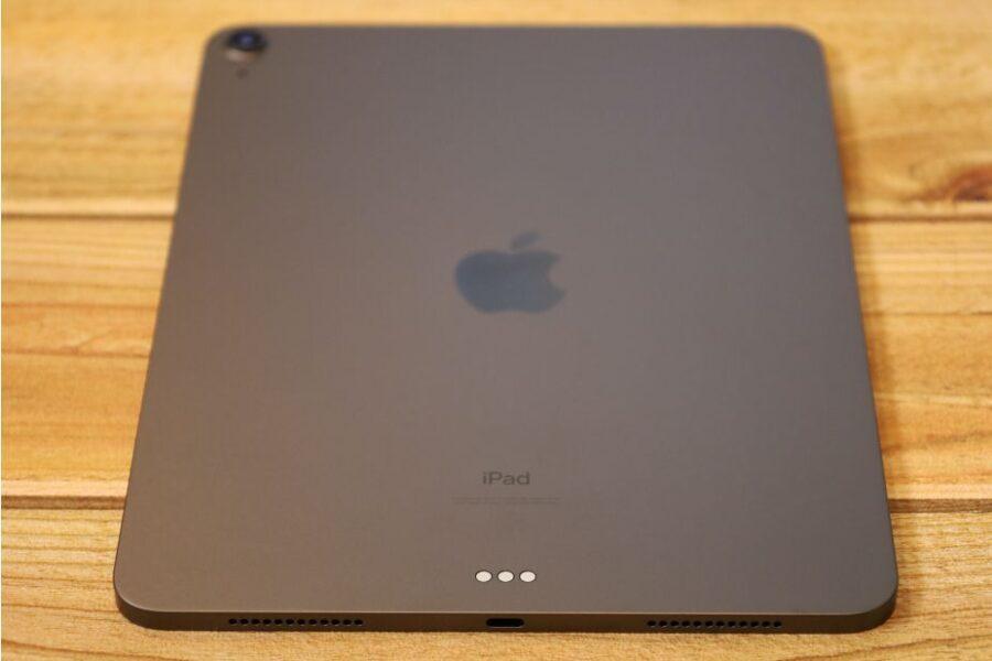 iPad Air 4(2020)本体外観背面USB-Cが見える部分