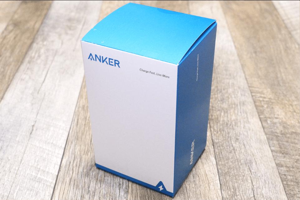 Anker PowerWave10 Stand改善版の外箱