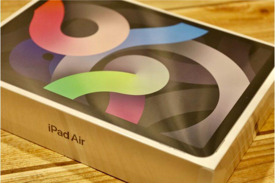 iPad Air 4(2020)の外側フィルム