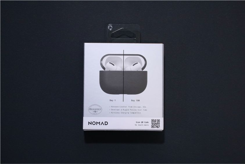 NOMAD Rugged Case AirPods Proを利用して1日目から100日目の状態