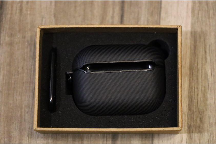 PITAKA Air Pal Mini for AirPods Proケースのデザイン背面