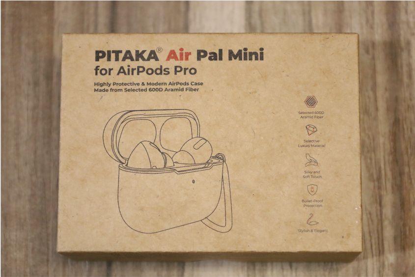 PITAKA Air Pal Mini for AirPods Proケースの外箱