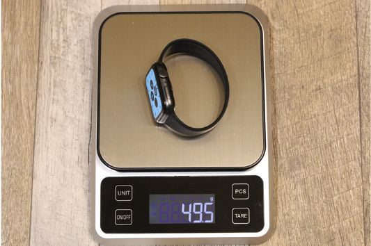 『FRESHCLOUD』ソロループ Apple Watchバンドの本体と重量