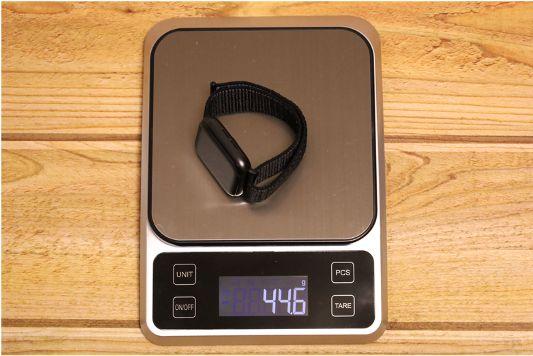 【レビュー】コスパ抜群!4色入り Apple WatchナイロンスポーツATUPバンド本体との重量
