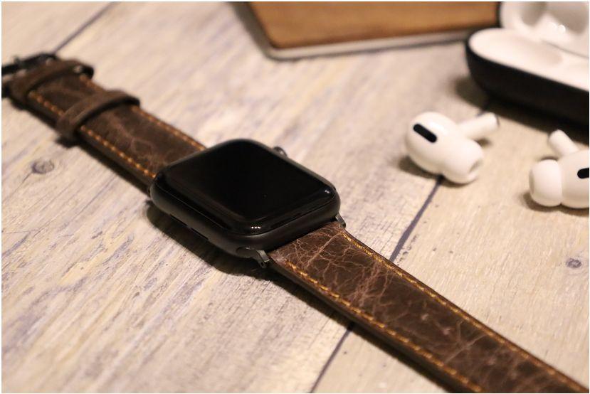 『Tasikar』おしゃれクラシック Apple Watchレザーバンドの全体写真