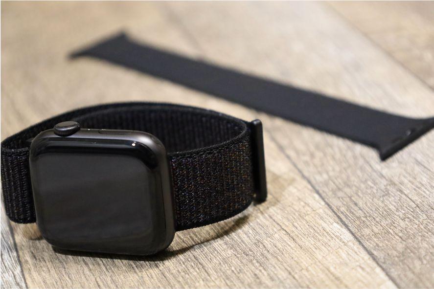 『FRESHCLOUD』ソロループ Apple Watchバンドを着用してみる