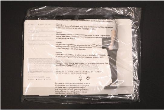NATIVE UNION Stow Slim Sleeve MacBook Air:Pro用の外箱裏面