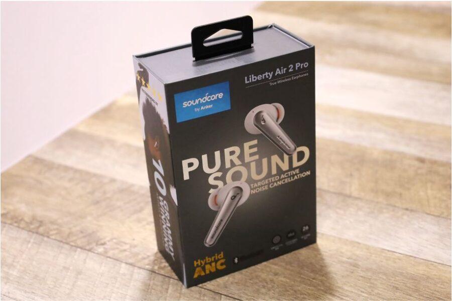 Soundcore Liberty Air 2 Pro の外箱