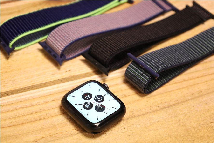 Apple WatchナイロンスポーツATUPバンドメリット・デメリット