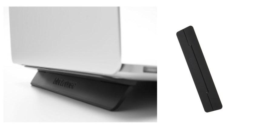 MacBook Air:Pro おすすめ『折りたたみ貼り付けコンパクトスタンド』2位BlueloungeKickflip
