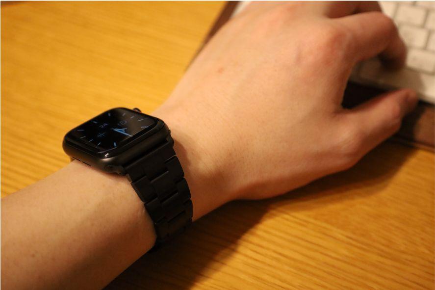 JEDirectのApple Watchのバンドで使用して気になることはPCとの干渉