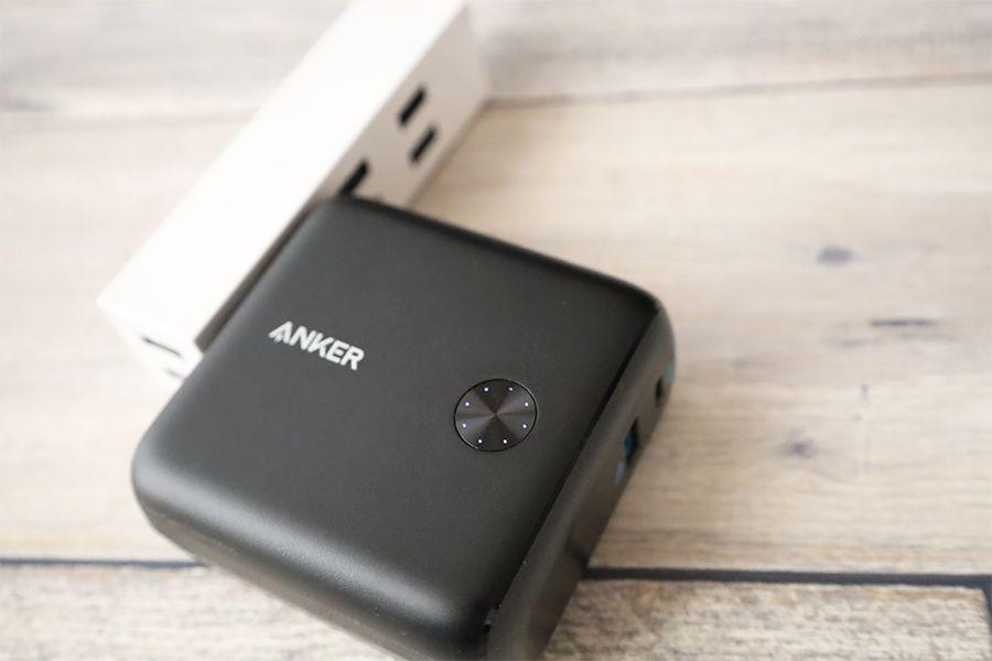 Anker PowerCore Fusion 10000の本体充電はアダプター充電のみ