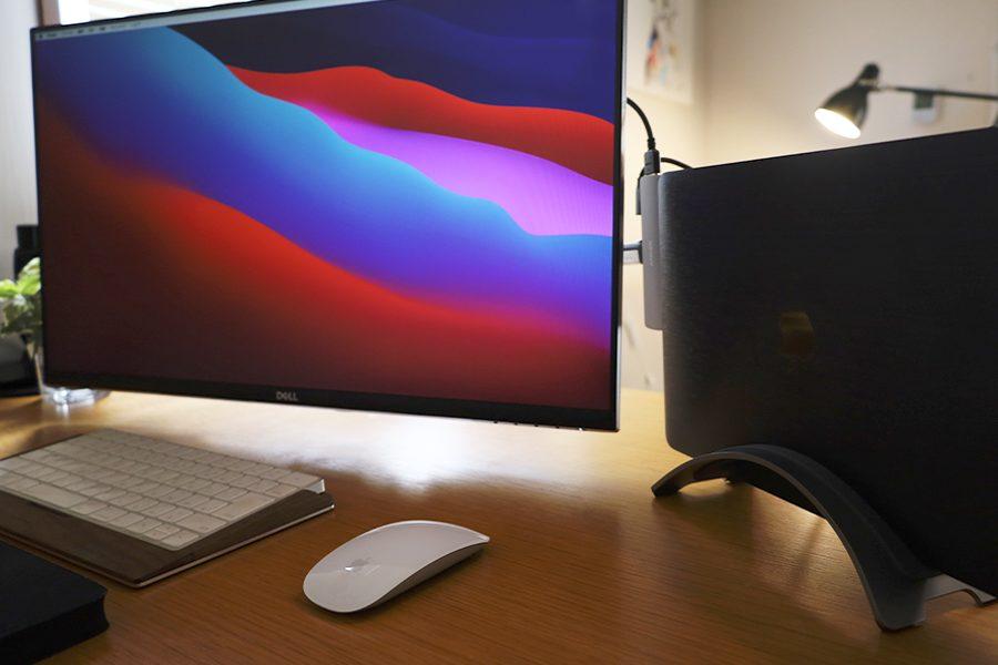 MacBook/ノートPCスタンドがあると外付けディスプレイが導入しやすくなる