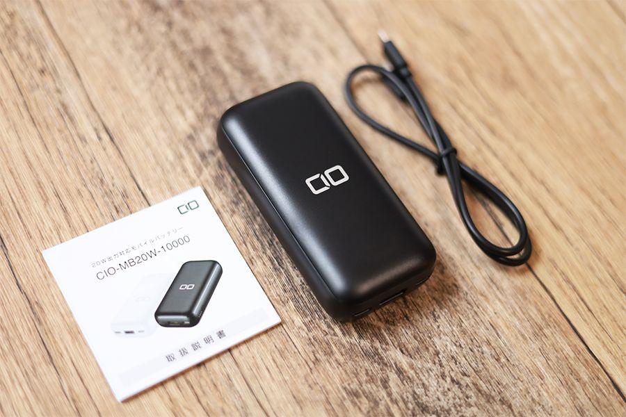 CIO-MB20W-10000の内容物は3点
