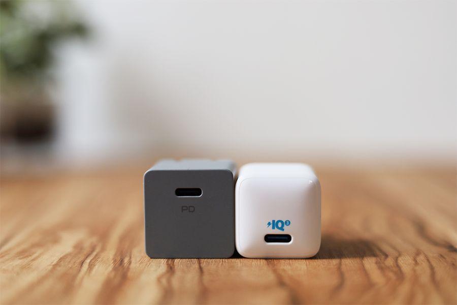DIGIFORCE 20W USB PD Fast ChargerとAnker PowerPort nano20W充電を比較2