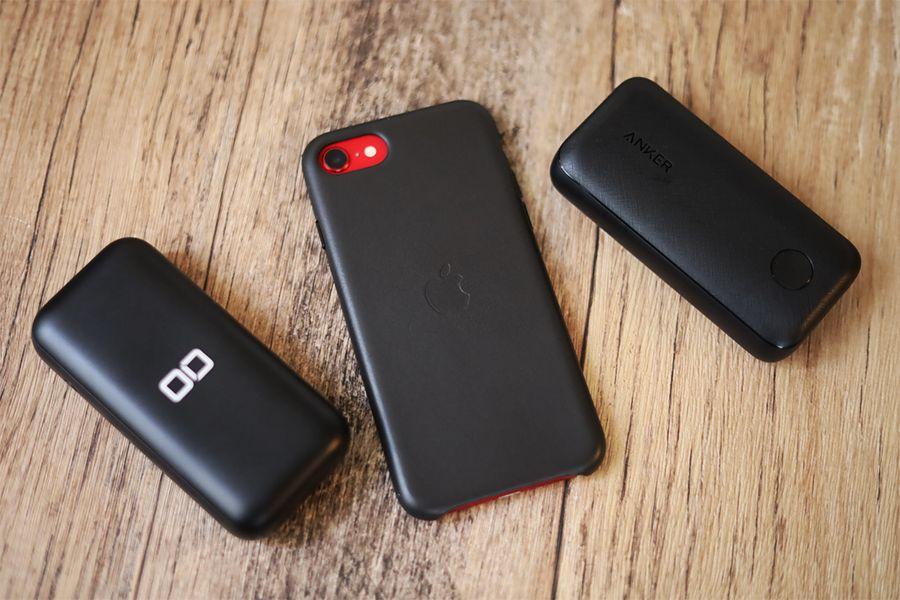 CIO-MB20W-10000とANKER PowerCore 10000 PD REDUXはどちらもiPhone12を意識したモバイルバッテリー