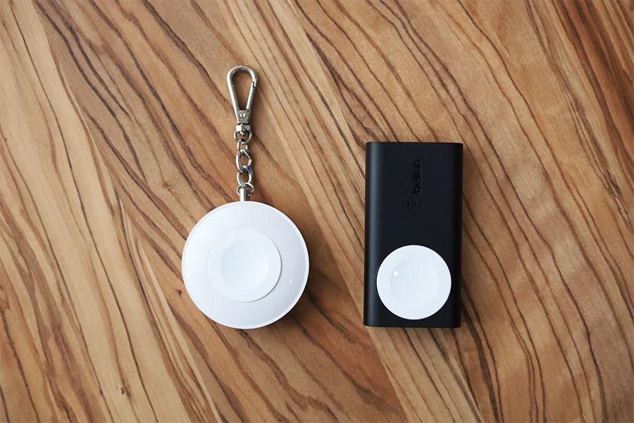 Belkin BOOST CHARGE Apple Watch用モバイルバッテリーとCHOETECHの比較