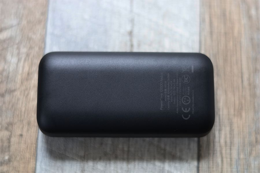 Anker PowerCore 10000 PD Reduxの背面