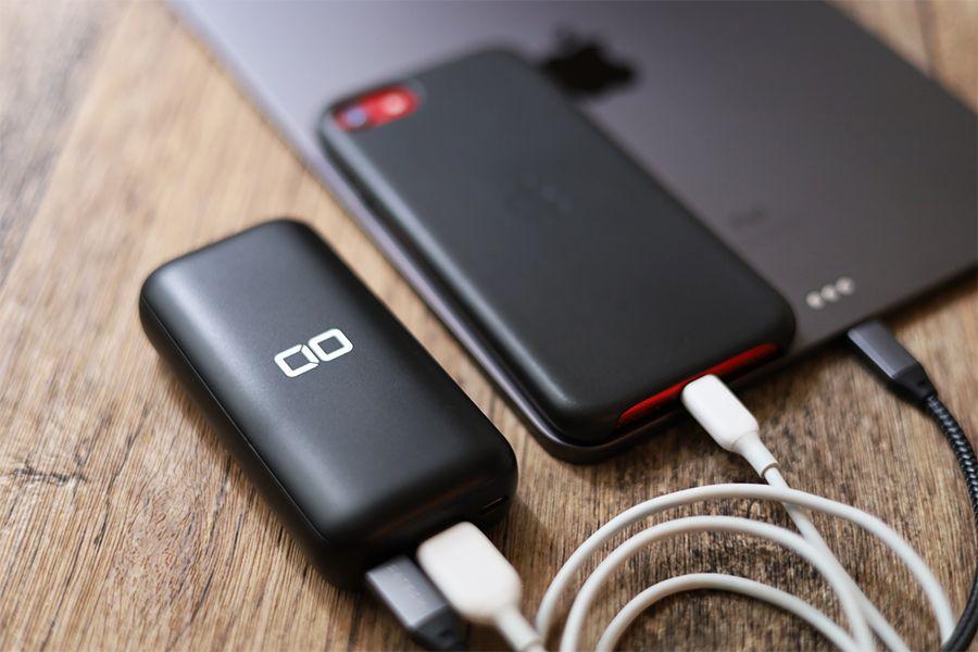 CIO-MB20W-10000でiPhoneとiPadを充電時は最大15Wで充電できる