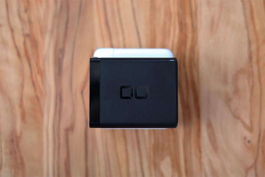 CIO LilNob USB PD 4ポート100W【G100W3C1A】はApple純正充電器を重ねて比較