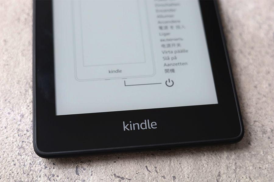 Kindle Paperwhiteの下部