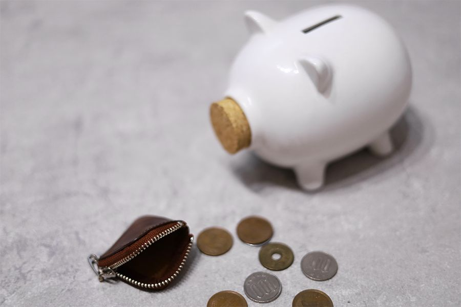 dripのCHIPはその日の小銭をその日のうちに収納できる
