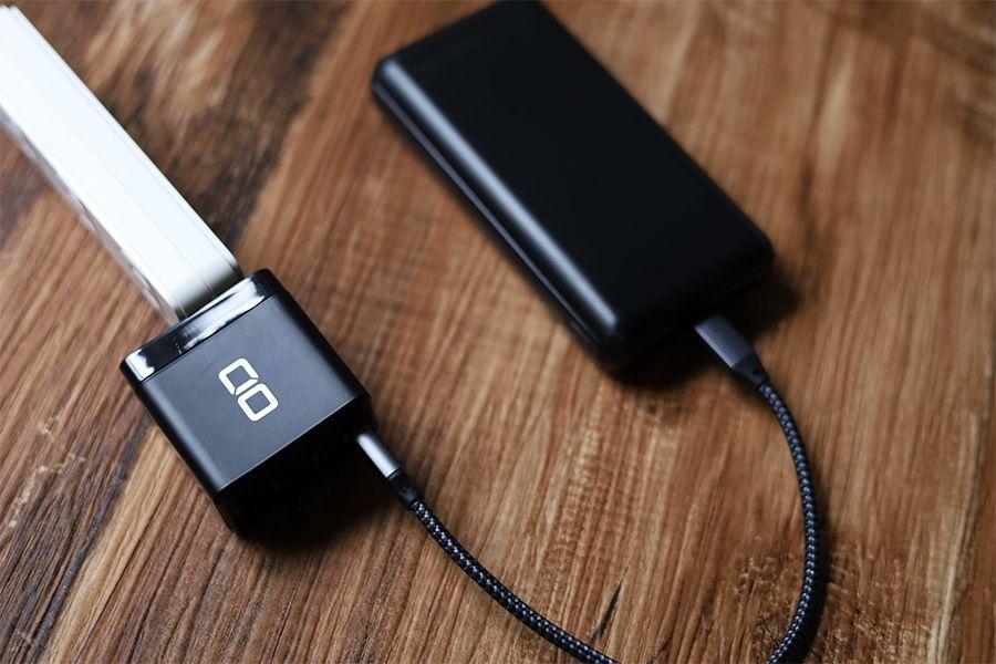 モバイルバッテリー本体の充電時間は重要