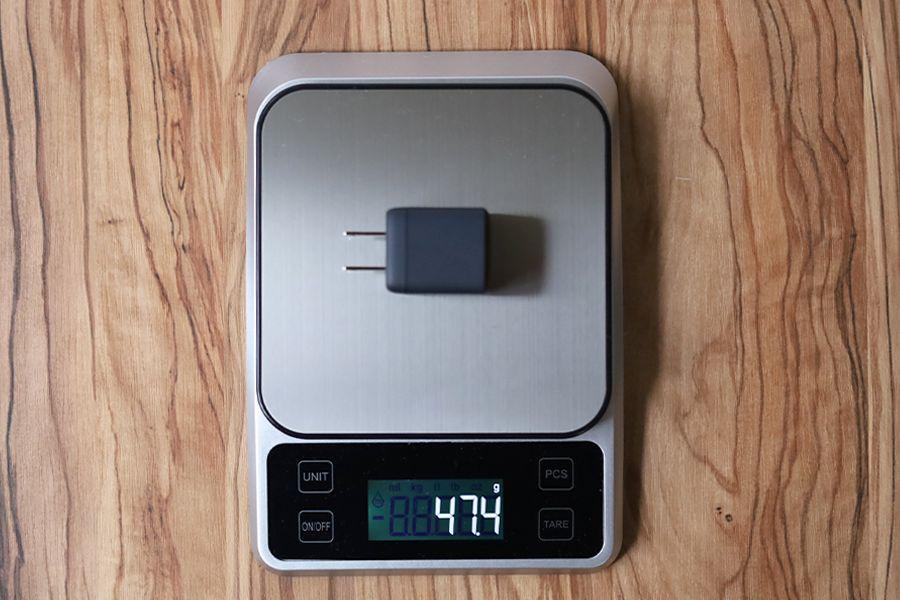 Anker Nano Ⅱ 30Wの重量は47g