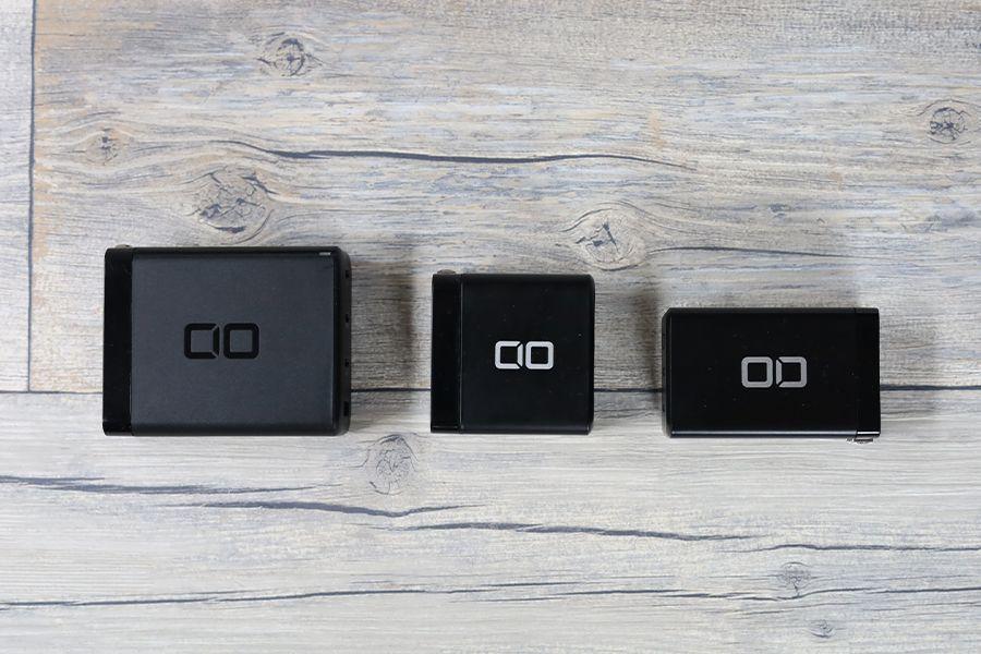 CIO LilNob USB PD 4ポート100W【G100W3C1A】とその他CIO充電器の比較