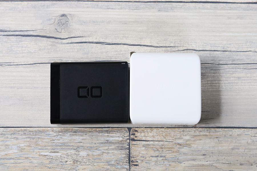 CIO LilNob USB PD 4ポート100W【G100W3C1A】とAUKEYのサイズや性能比較