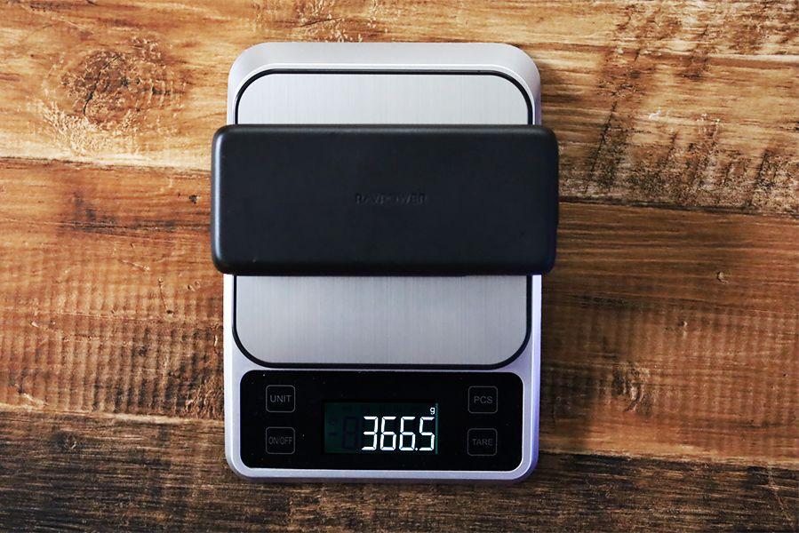 RAVPower RP-PB201の重量