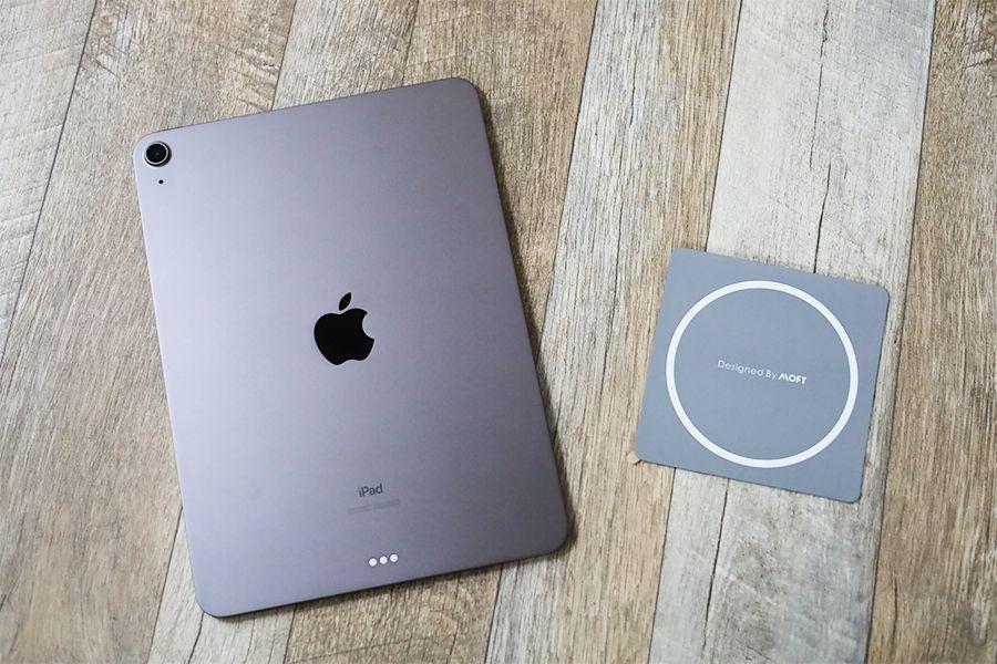 iPad用MOFT 改良型Snap-onを装着してみる