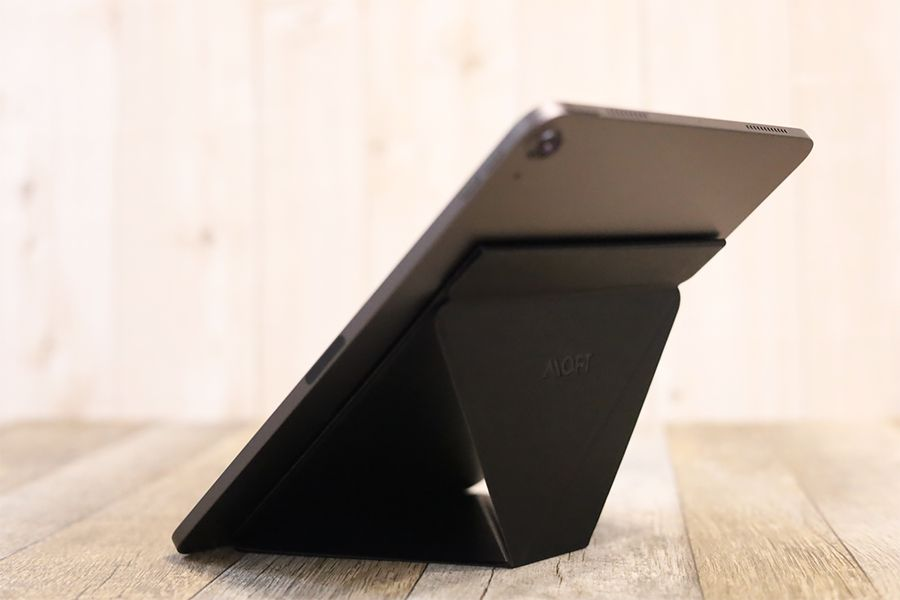 iPad用MOFT 改良型Snap−ONの縦置き角度